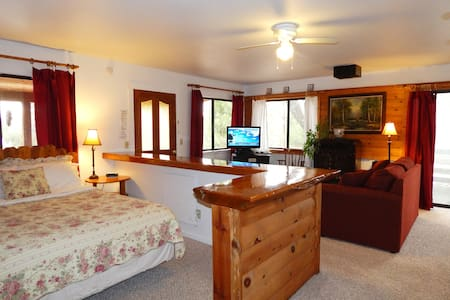 Yosemite Cabin - No cleaning fee - Free WiFi & BBQ - 阿瓦尼(Ahwahnee) - 小屋