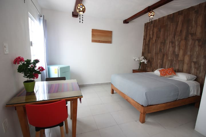 Cozy,Safe, Private Apart, half block from the Sea,