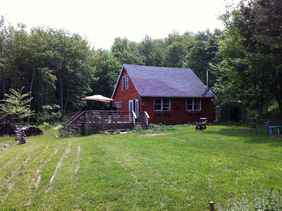 Upstate new york bethel woods cabins for rent in swan for Log cabins upstate ny
