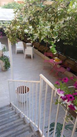 loft con giardino a Palermo