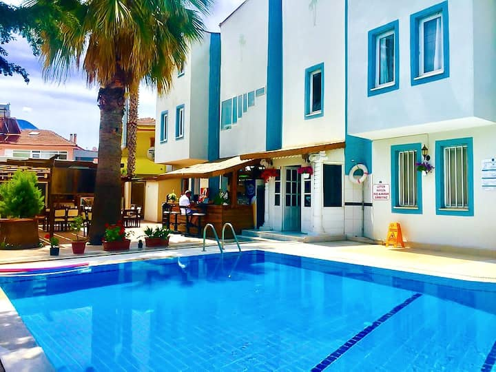 Nehir Apart Pool View 1 + 1 Second Floor Apartment