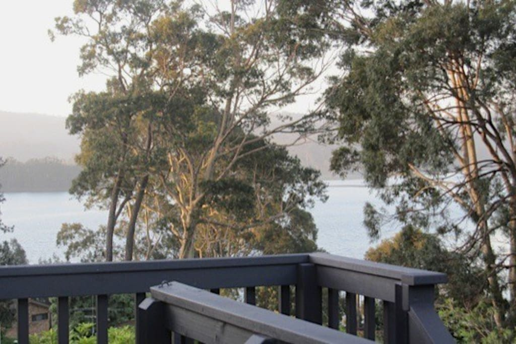View of Wogonga Inlet from the deck