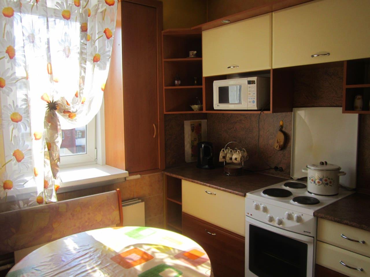 Уютная квартира рядом с ж/д вокзало