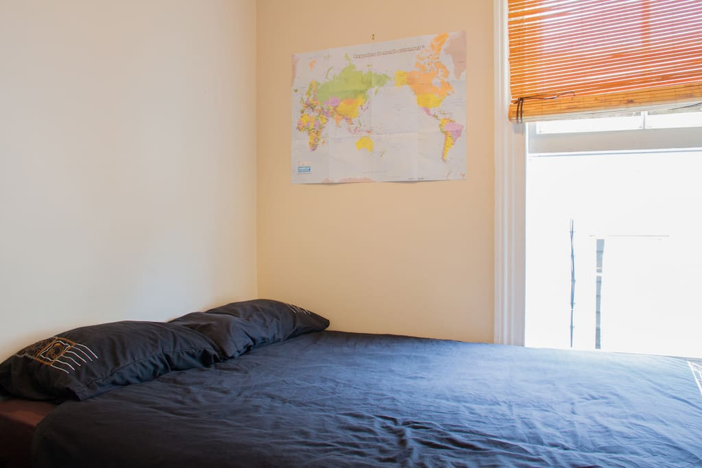 Double bed and map in case you're lost :P