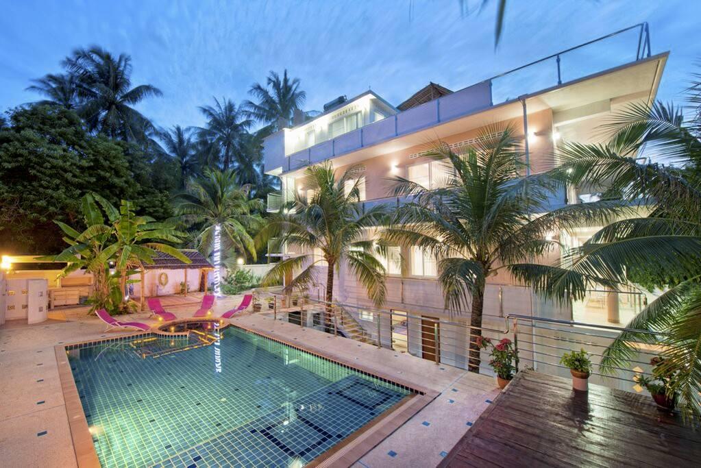 private villa in a quiet location wohnungen zur miete in. Black Bedroom Furniture Sets. Home Design Ideas