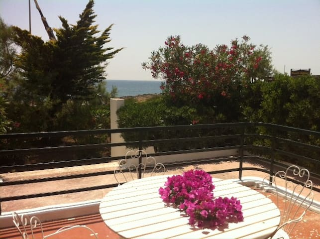 SALENTO: beachfront villa 9bed 2bat - Ugento - Villa
