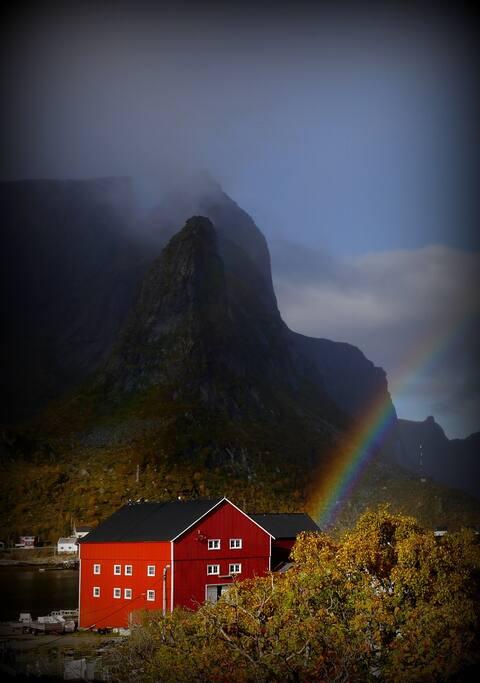 Autumn is rainbow-time