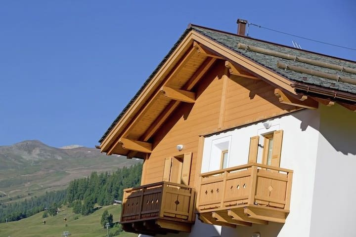 Splendid Holiday Home in Livigno Italy near Ski Area