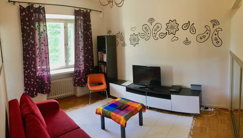 Compact apartment close to the Helsinki center!