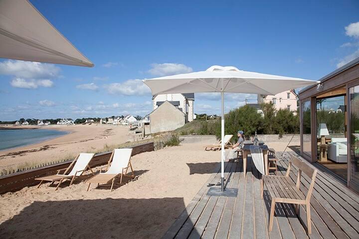 sur la plage - 5 pieces in the sand - Batz-sur-Mer - Appartamento