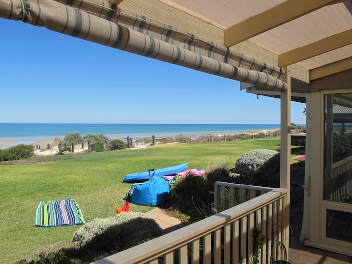 Adelaide absolute beachfront home