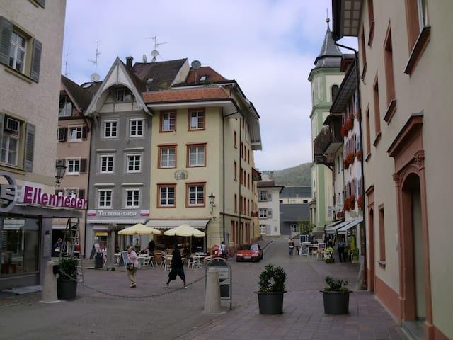 Waldshut Altstadt 1 Zi. Whg. 3.OG - Waldshut-Tiengen - Haus