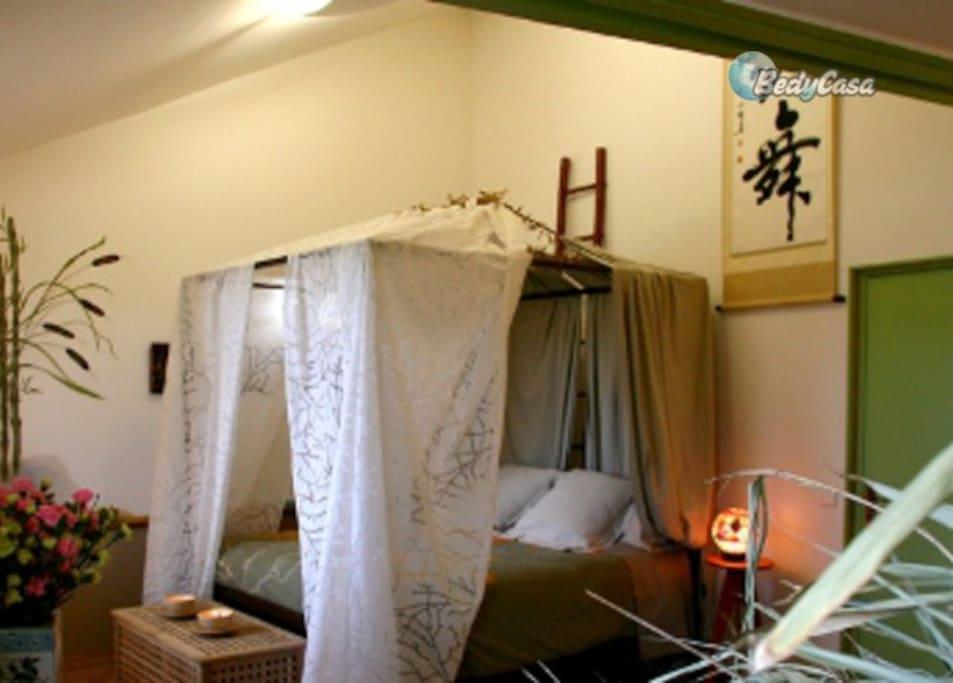 Chambre d 39 h te bambou ferme d 39 o chambres d 39 h tes - Chambre d hote barcelone centre ...