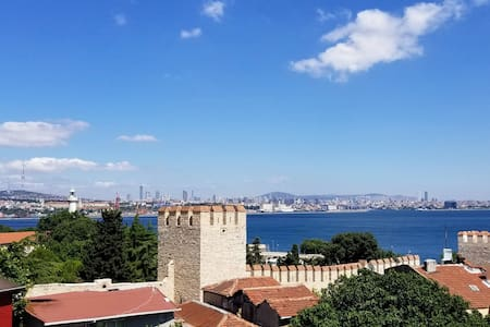 Bright, New Studio With Sea View In Sultanahmet