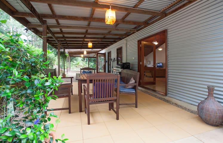 Art House in Rainforest - Dulong - Casa
