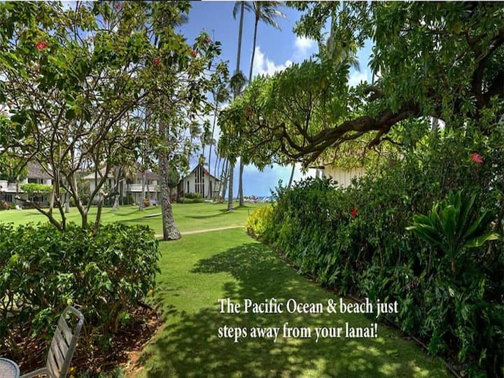 Poipu Privacy+Style! Kitchen, Lanai, WiFi, 55: Flat Screen w/Streaming Capabilities–Kiahuna 2183