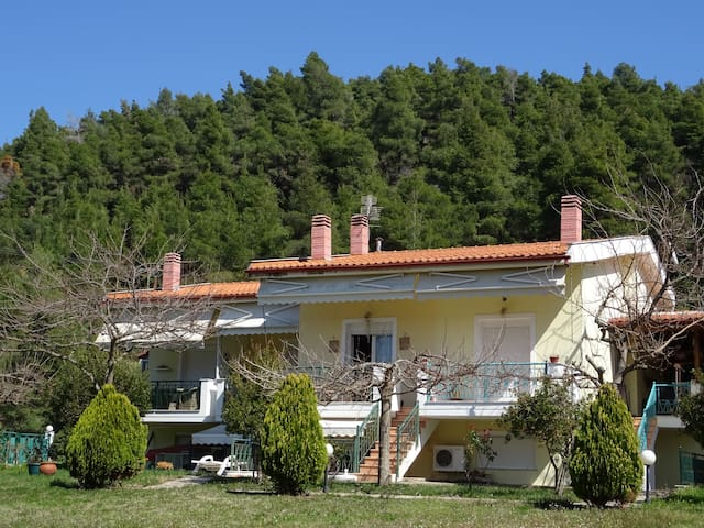 House on a private sandy beach - Stiladari - Talo
