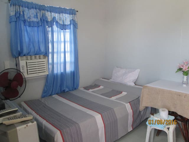 A Modest Air-conditioned Room - Davao City