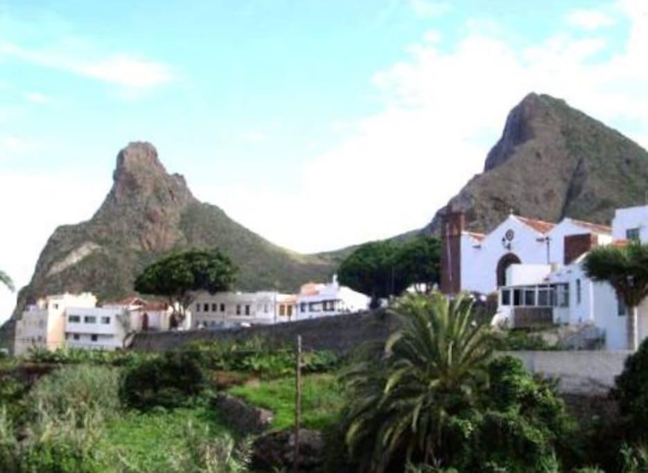 centro historico de taganana