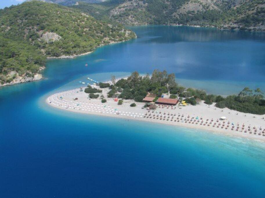 Blue Lagoon and Ölüdeniz Beach