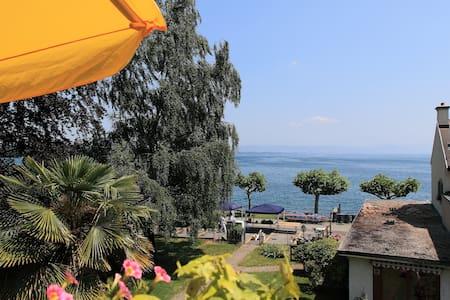 010 Nice flat with view on lake - Saint-Prex - Wohnung