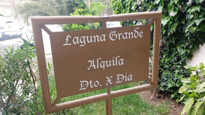 Departamento completo (N°2)  - Laguna Grande