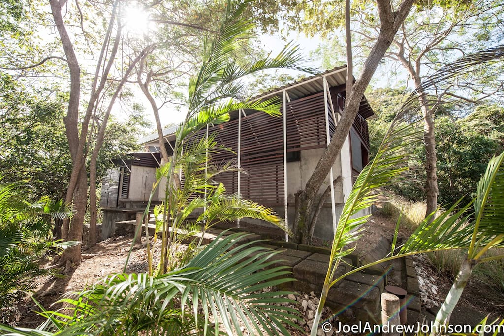 Set in the jungle with ocean views- this is Casa Colina