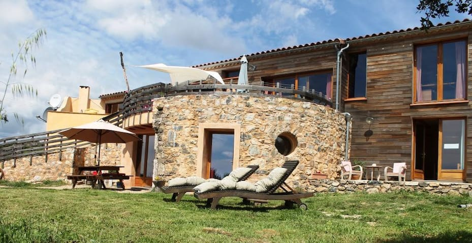 Luxury gite with amazing view - Vélieux - Byt