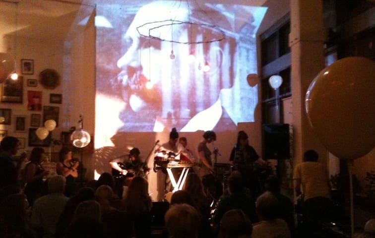 Concert at Fumbally Cafe.