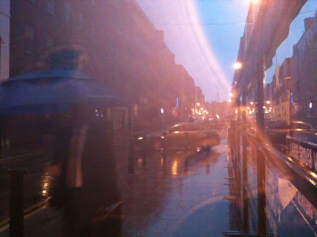 occasionally rain showers...