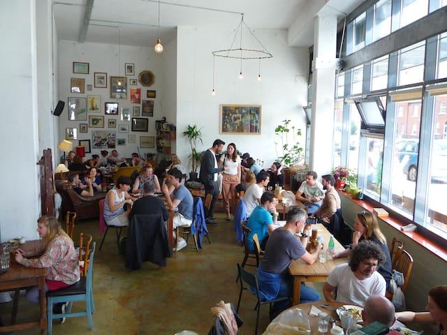 Fumbally Cafe.