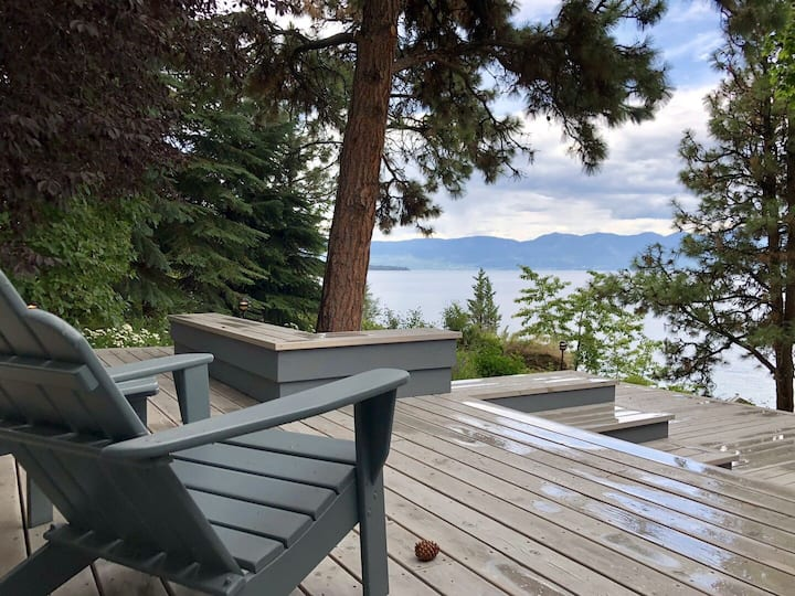 Incredible Moon Rising Estate on 500ft of Private Flathead Lake Frontage