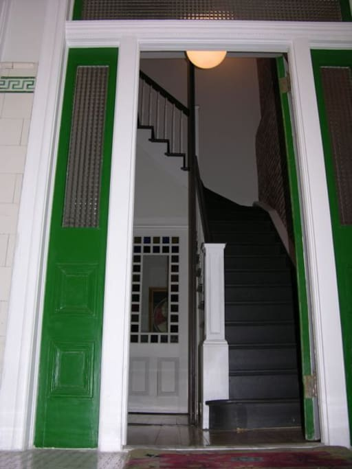 Street entryway