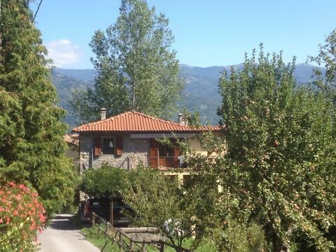 Tuscany (Garfagnana) - charming, rural apartment.