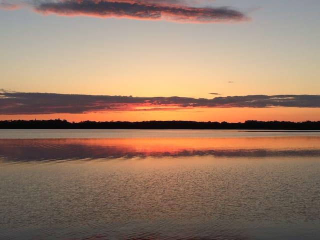 Zimmerman's Landing on Lake Irene - Miltona - Rumah