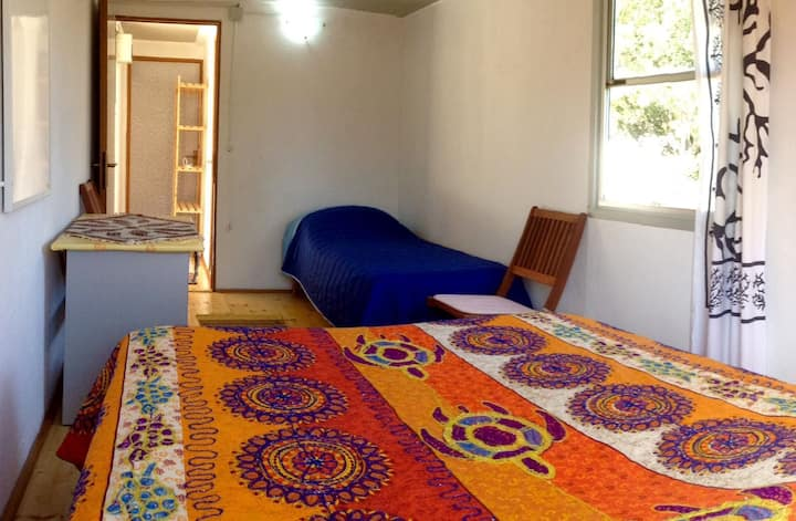 Comfortable rooms in the wood near Olbia