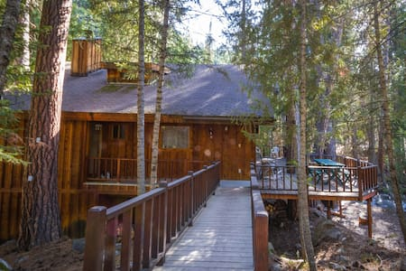 House and Cabin on Boulder Creek - Darby - Casa