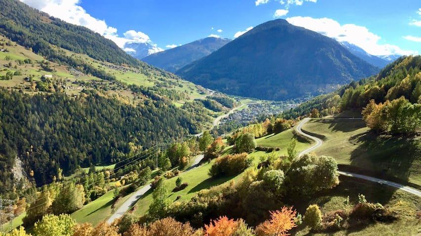 Loft du Mont-Catogne au Pays du St-Bernard