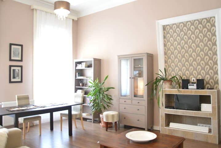 Stylish downtown flat with lots of experiences - Budapeszt - Apartament