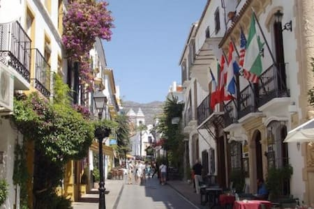 Nice bedroom close to downtown and to the beach - Marbella - Appartamento