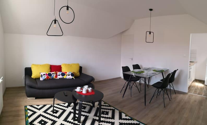Green Garden Plus apartman tetőtér/emelet