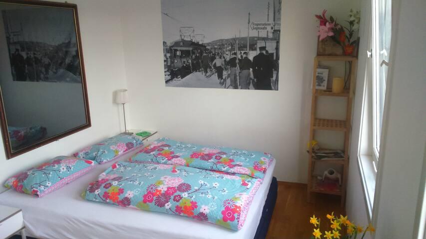Great spot, nice & cozy room, very friendly people
