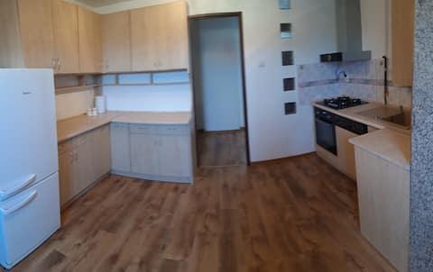 Apartament na dachu Legnicy.