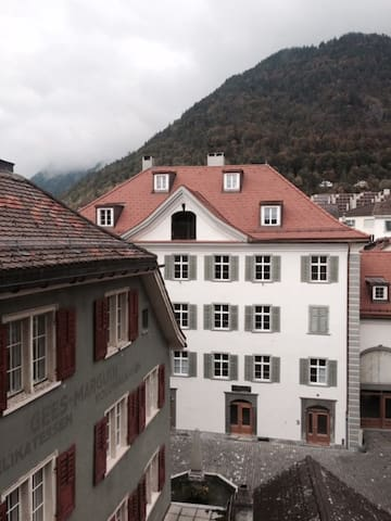 Charming apt. in the heart of Chur