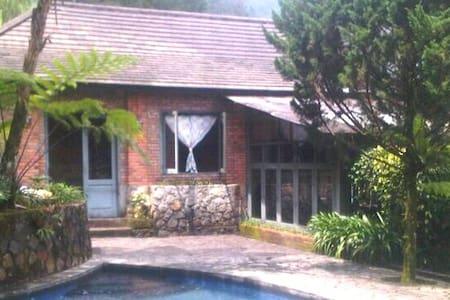 pool villa in 1 hectare area bogor - Cisarua
