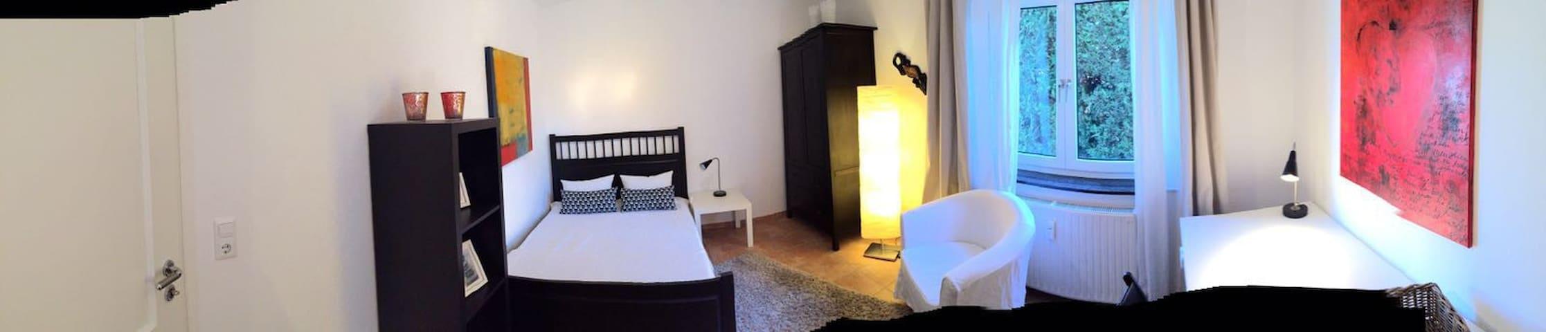 Schönes und ruhiges Zimmer im Grünen - Rockenberg - Apartament