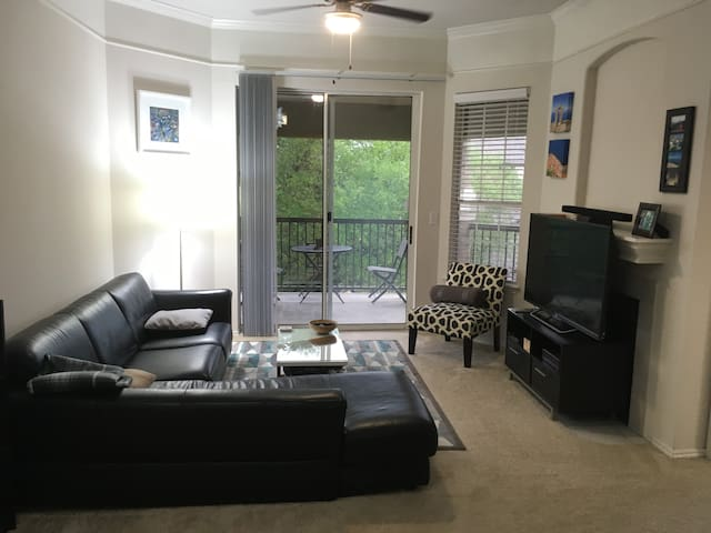Private BR/BA in Chic Apartment in South Austin - Austin - Apartment