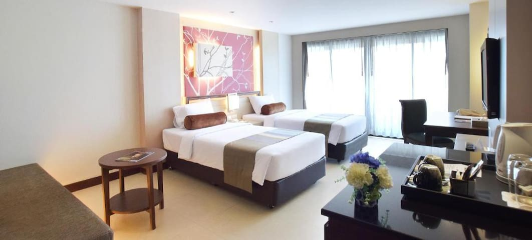 Stylish Deluxe room in Trang