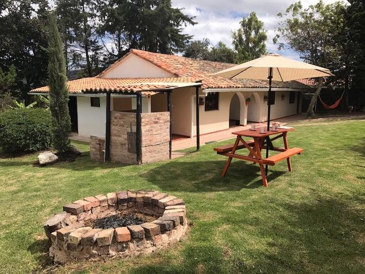 Casa Finca LA CUMBRE a 7 kms de Villa de Leyva