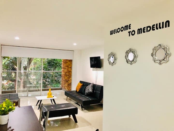 Apartamento moderno 5 STAR Laureles - Malibu II2